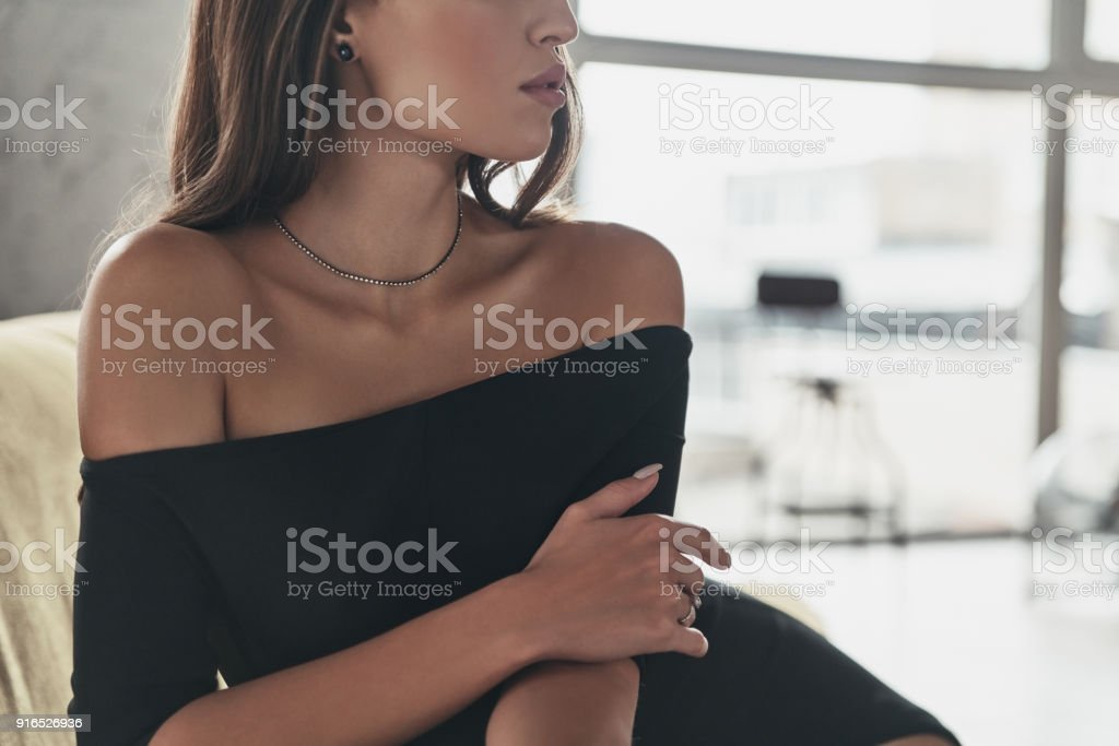 Elegant in everything. stock photo