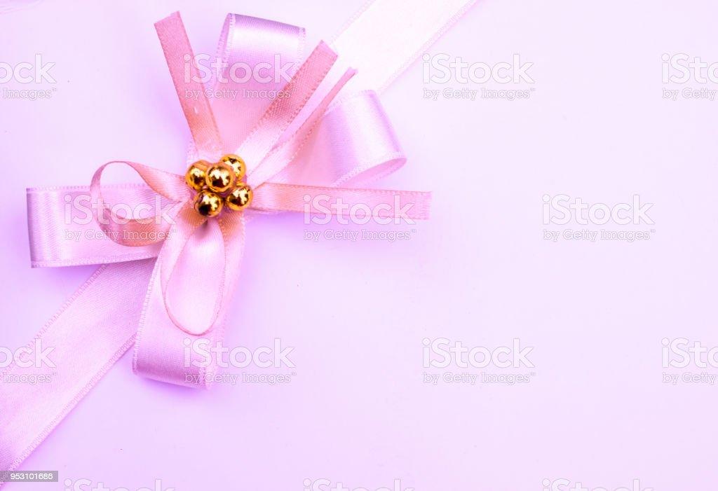 Elegant invitation card with ribbon stock photo more pictures of elegant invitation card with ribbon royalty free stock photo stopboris Gallery