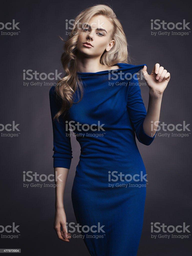 Elegant lady stock photo