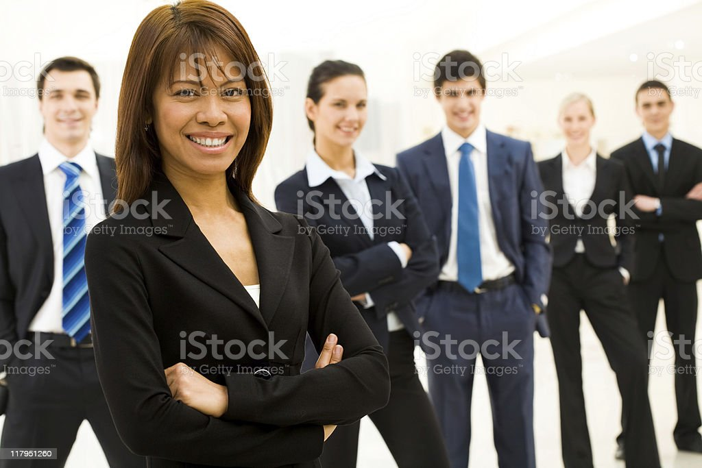 Elegant leader royalty-free stock photo