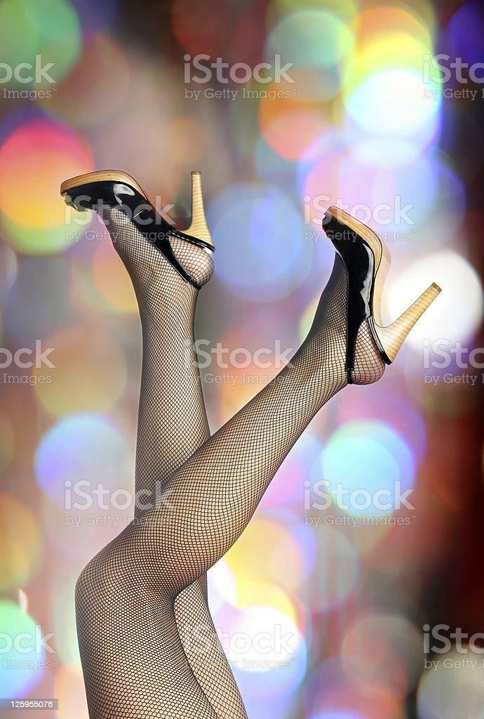 Elegant legs royalty-free stock photo