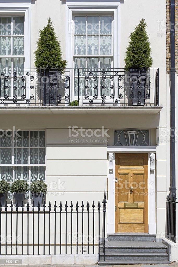 Elegant London Property stock photo