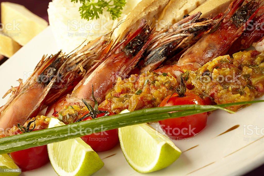 Elegant lunch royalty-free stock photo