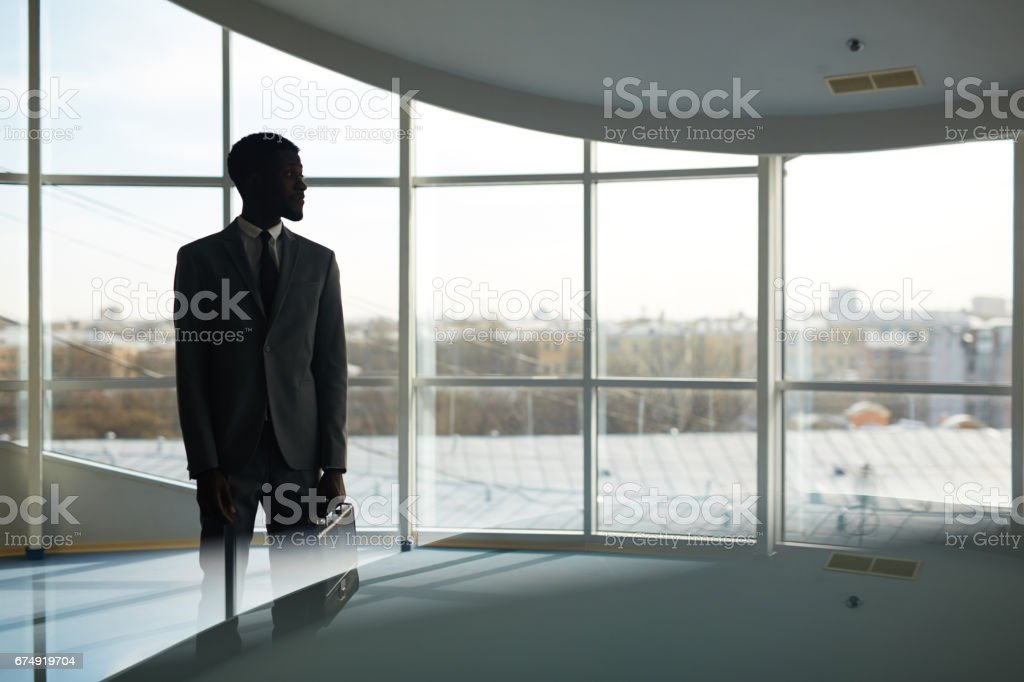 Elegant manager stock photo