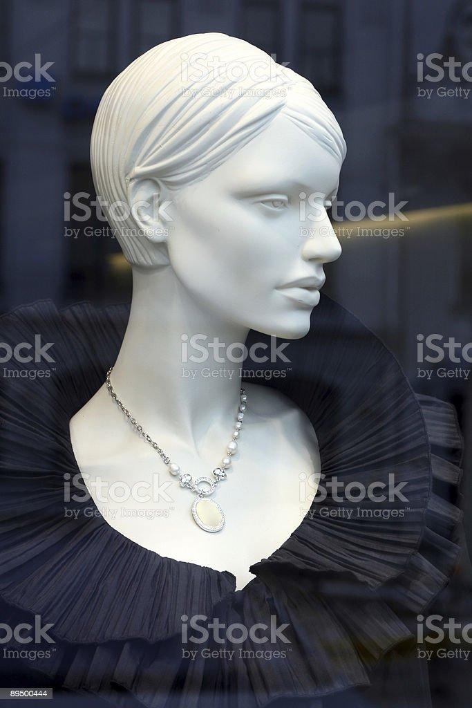 Elegant mannequin royaltyfri bildbanksbilder