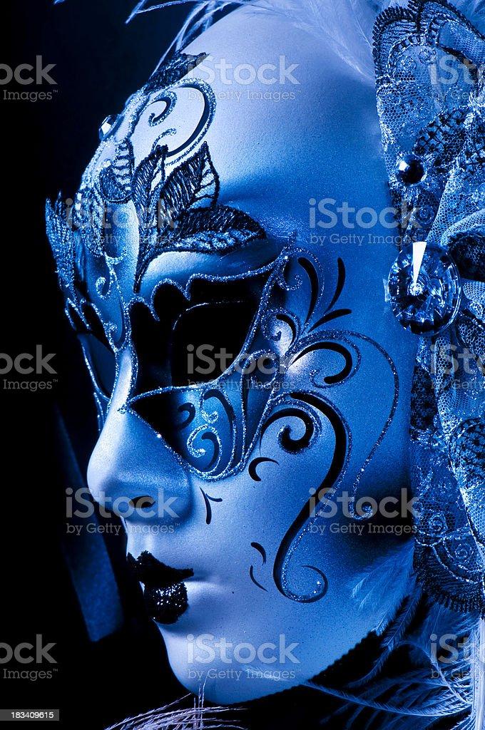 Elegant Marti Gras Mask royalty-free stock photo