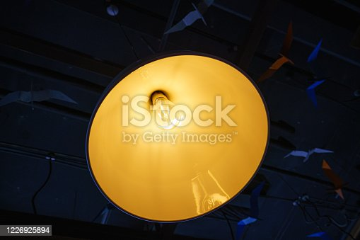 1137999886 istock photo Elegant modern home decoration lighting 1226925894