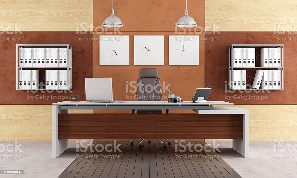 Elegant modern office stock photo