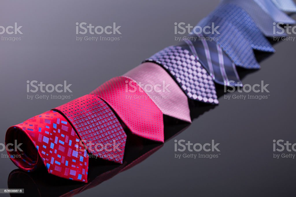 elegant objects for the male wardrobe stock photo