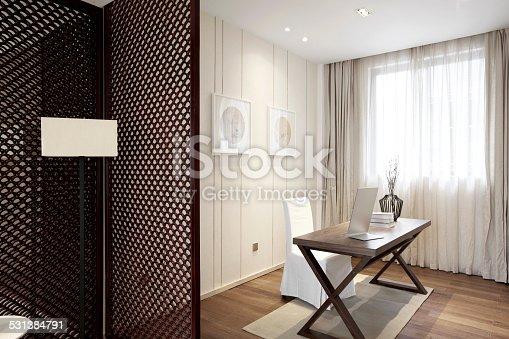 istock Elegant parlor interior 531384791