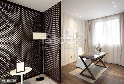 istock Elegant parlor interior 531384795