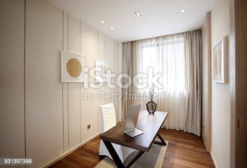 istock Elegant parlor interior 531397399