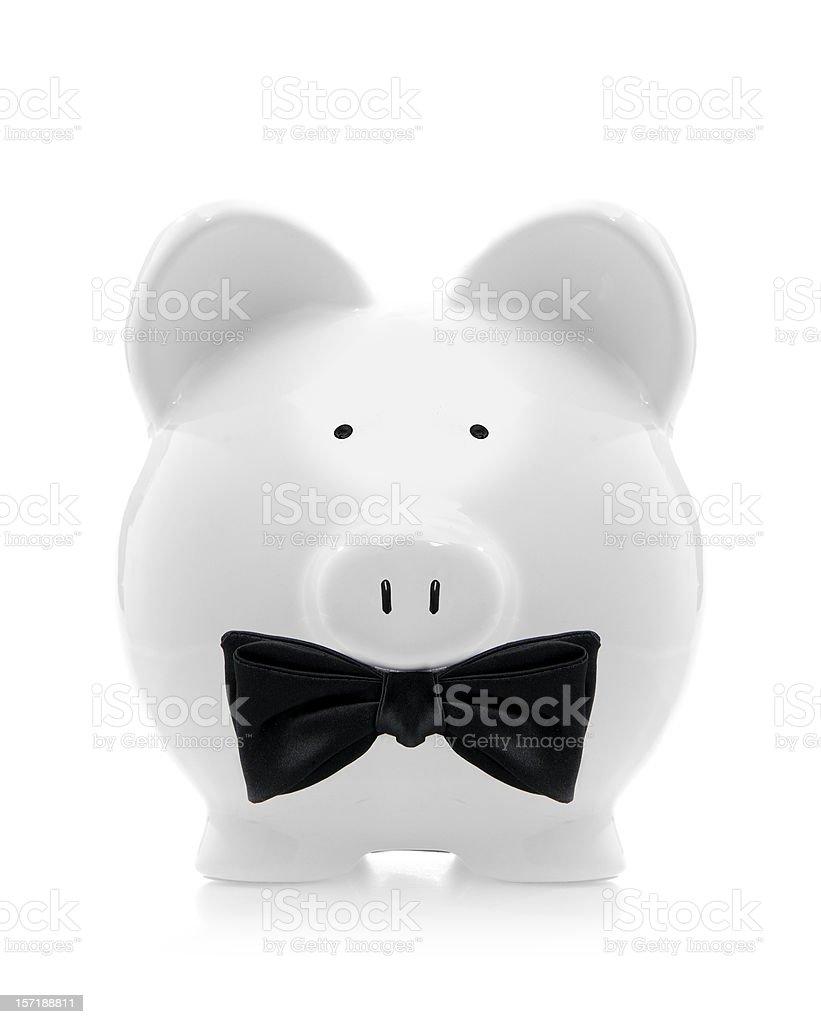 elegant piggybank royalty-free stock photo