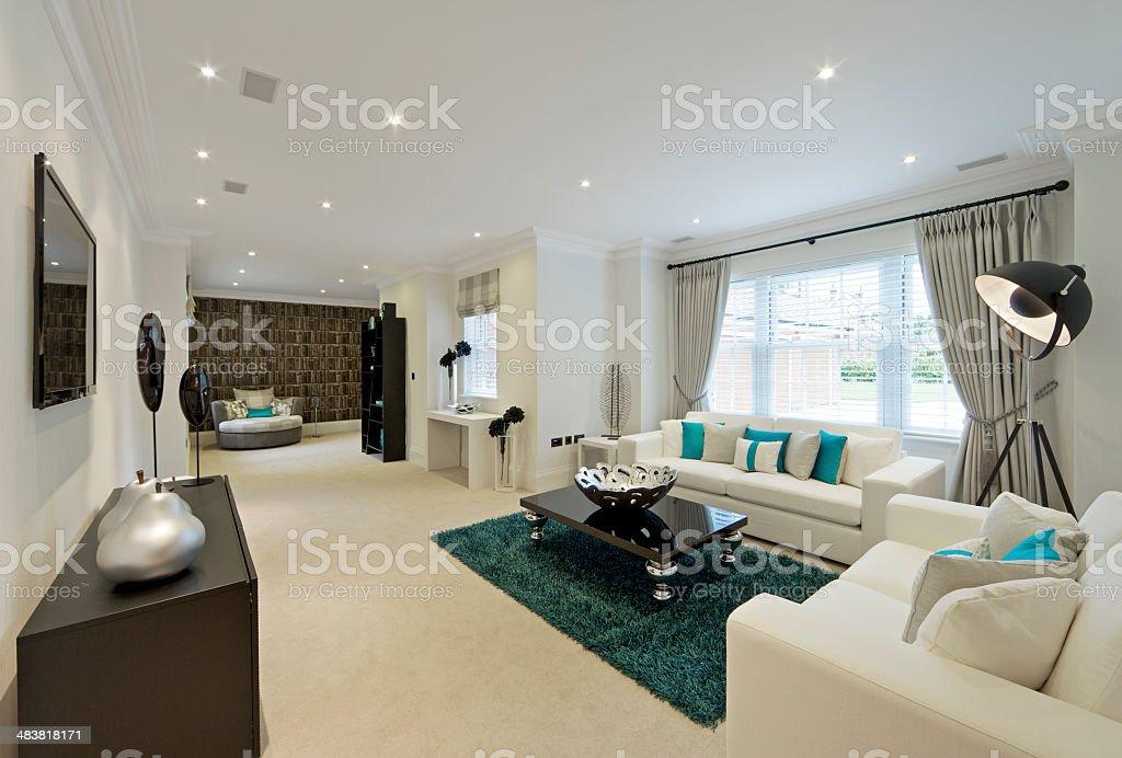elegant reception room royalty-free stock photo