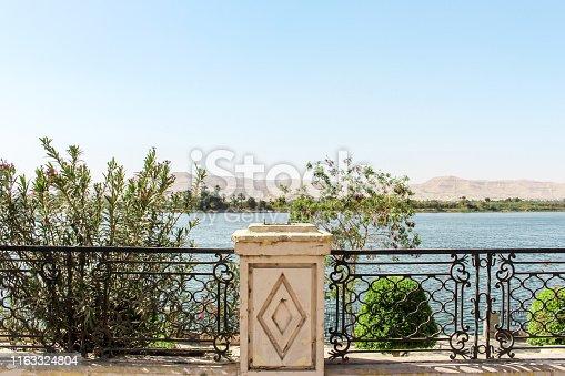 980314112 istock photo Elegant safety guard and seascape on coastal street, Luxor, Egypt 1163324804