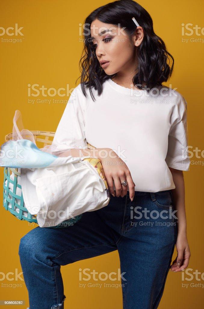 Asian girl t