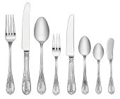 Full set classic design tableware with clipping path. Also find out more from my portfolio