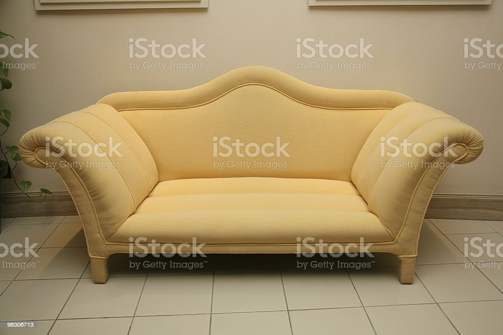Elegant Sofa stock photo
