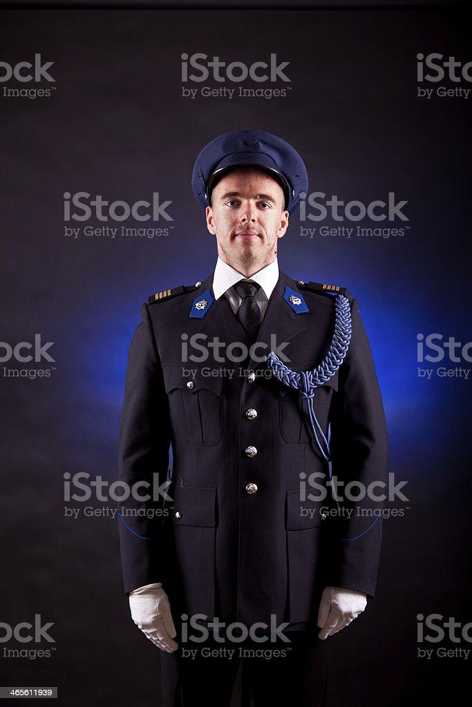elegant soldier stock photo