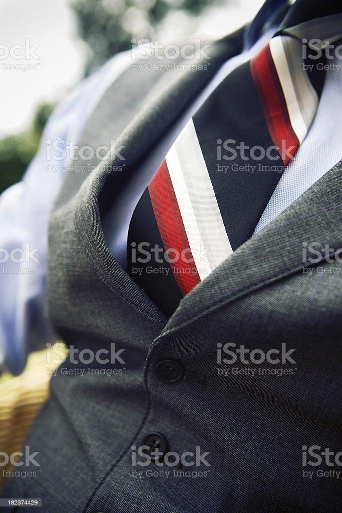 elegant tie royalty-free stock photo