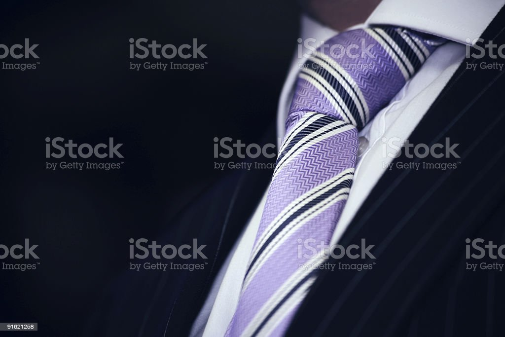 Elegant tie stock photo