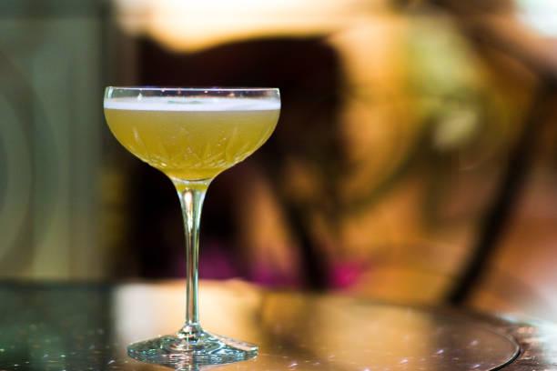 Elegante whisky Sour - foto de stock