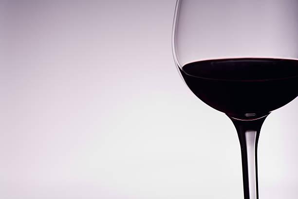 Elegant Wine Glass stock photo