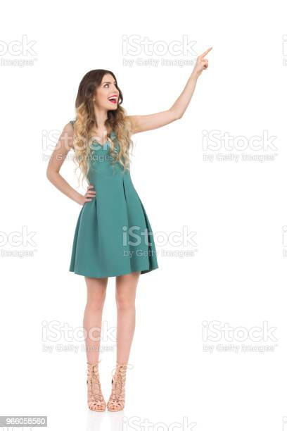 Eleganta Kvinnan I Höga Klackar Stående Att Röra Något Och Skrattar-foton och fler bilder på Elegans