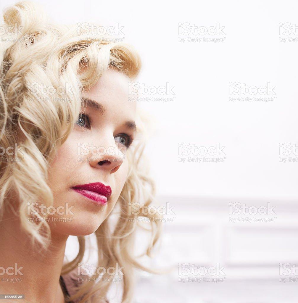 Elegant Woman Portrait stock photo