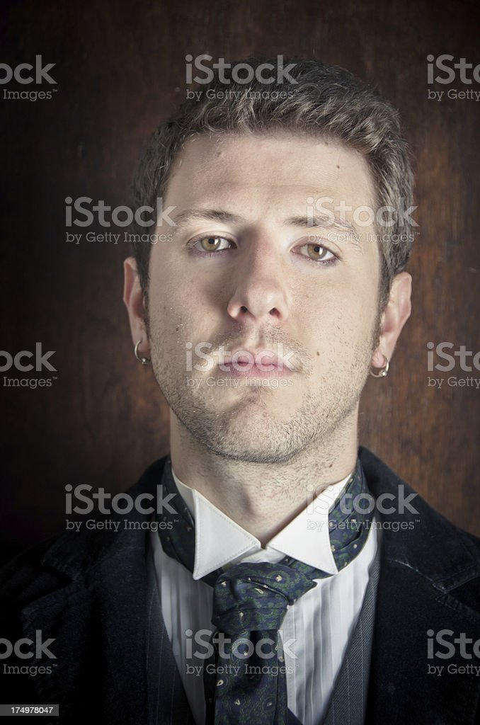 Elegant Young Man Portrait royalty-free stock photo