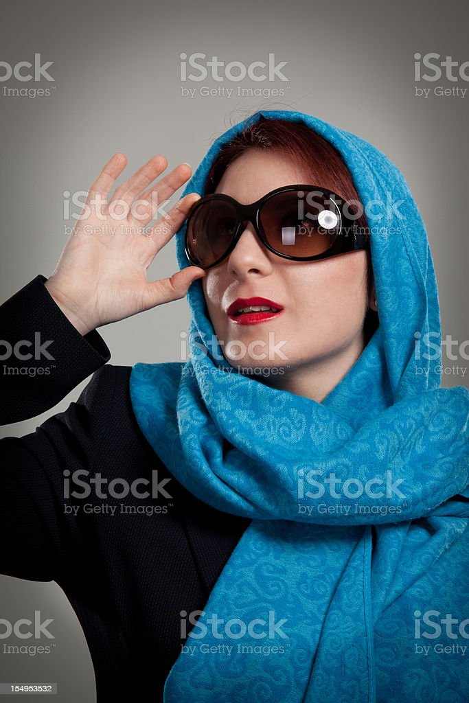 Elegant young woman royalty-free stock photo
