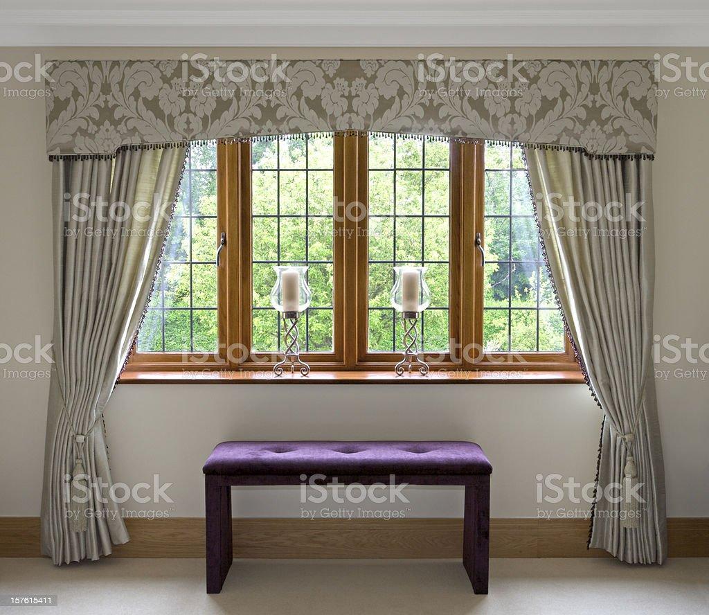 elegantly dressed window royalty-free stock photo