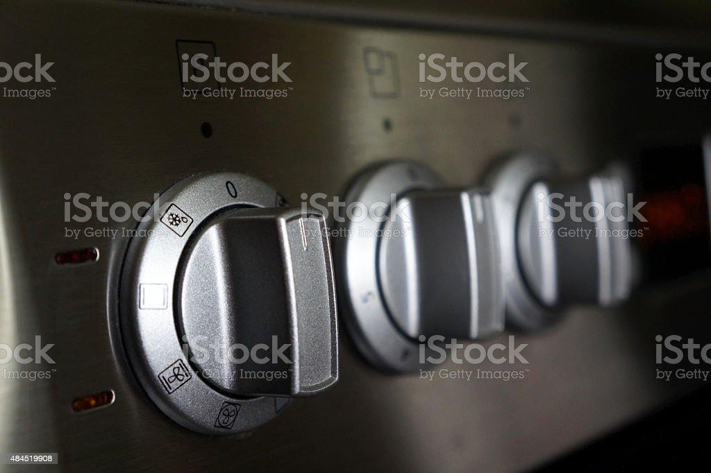 Elektroherd stock photo