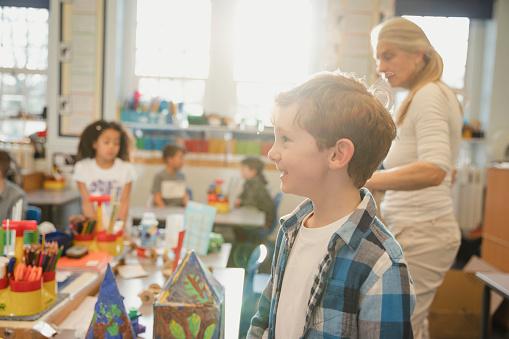 istock Elementary Class in Progress 1007214210