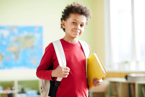 Elementary learner stock photo