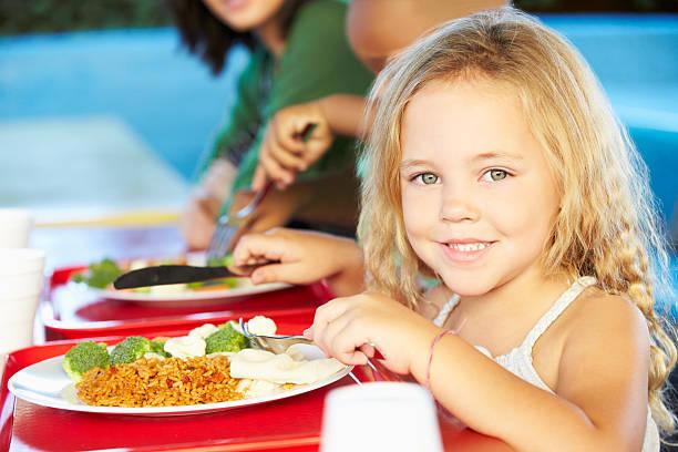 Elementary pupils enjoying healthy lunch in cafeteria picture id178090936?b=1&k=6&m=178090936&s=612x612&w=0&h=gointfi2elj3tdmhlw0 nh2qn0kdkqyuxo8bjgdydqi=