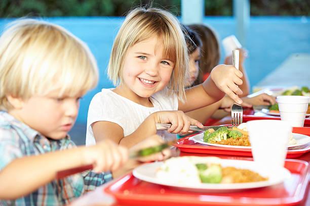 Elementary pupils enjoying healthy lunch in cafeteria picture id178107235?b=1&k=6&m=178107235&s=612x612&w=0&h=5sazgacofkqq1xopnu4czznh 7m7ib1ojsimyovhuca=