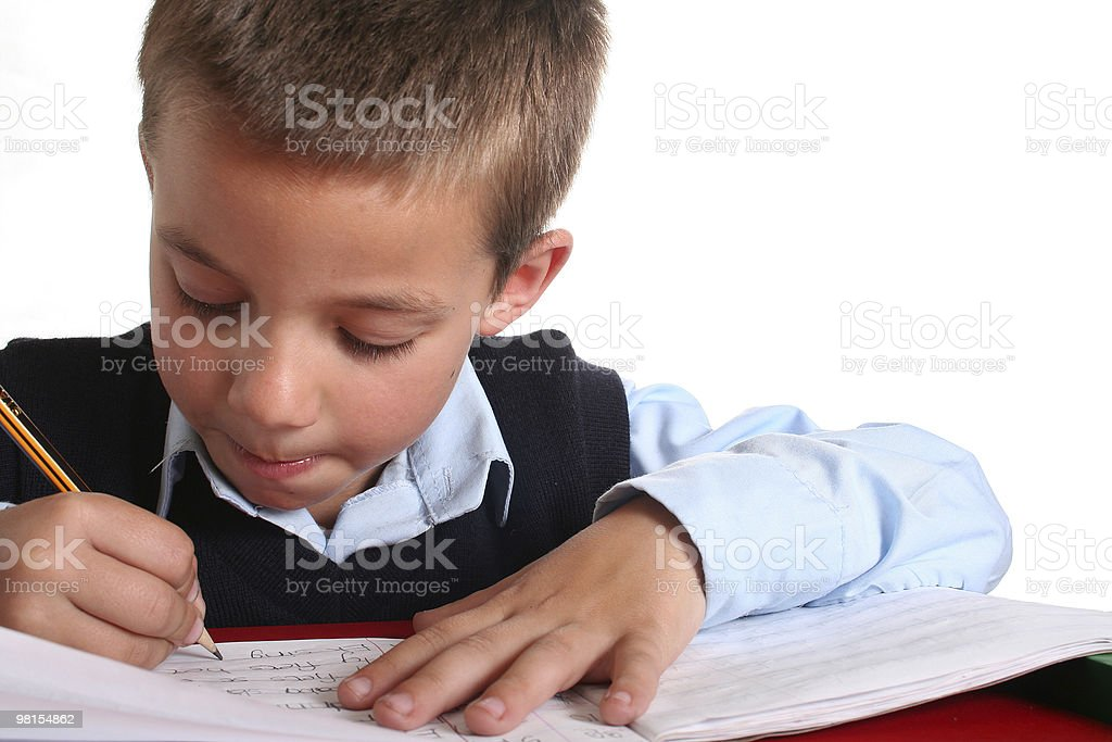 Elementary School boy royalty-free stock photo