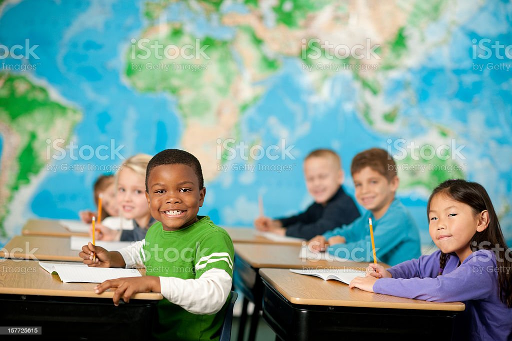 Elementary school royalty-free stock photo