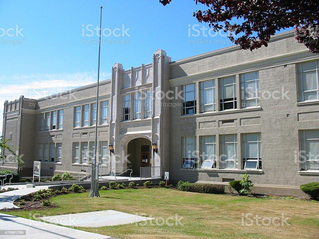 Elementary School stock photo