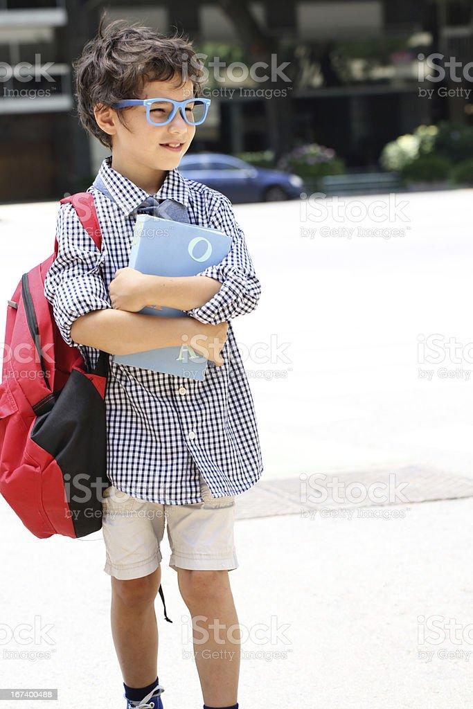 Elementary school student royalty-free stock photo