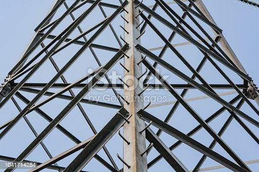 istock Elements of a high-voltage power line with a voltage of 750,000 volts 1041714284