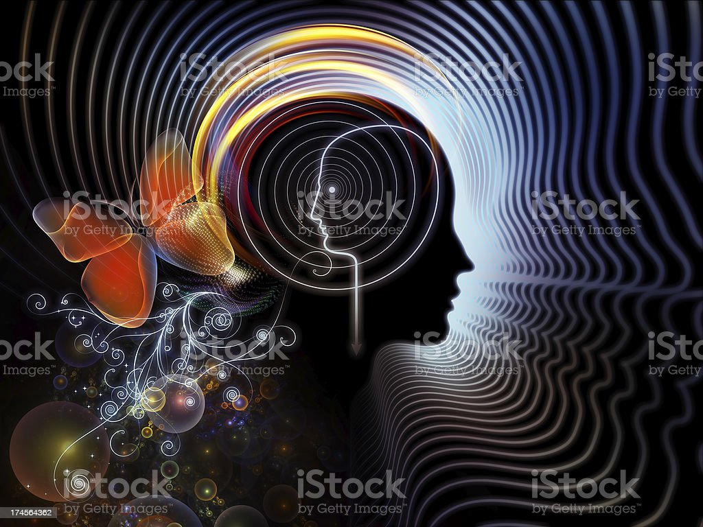 Elements of Human Mind royalty-free stock photo
