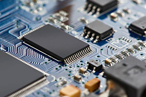 elements of microcircuit - 半導体 ストックフォトと画像