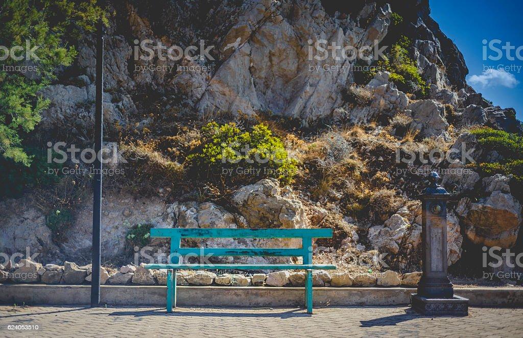 Elementi di Arredo urbano stock photo