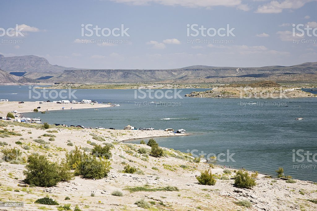 Elephant Butte Lake State Park royalty-free stock photo