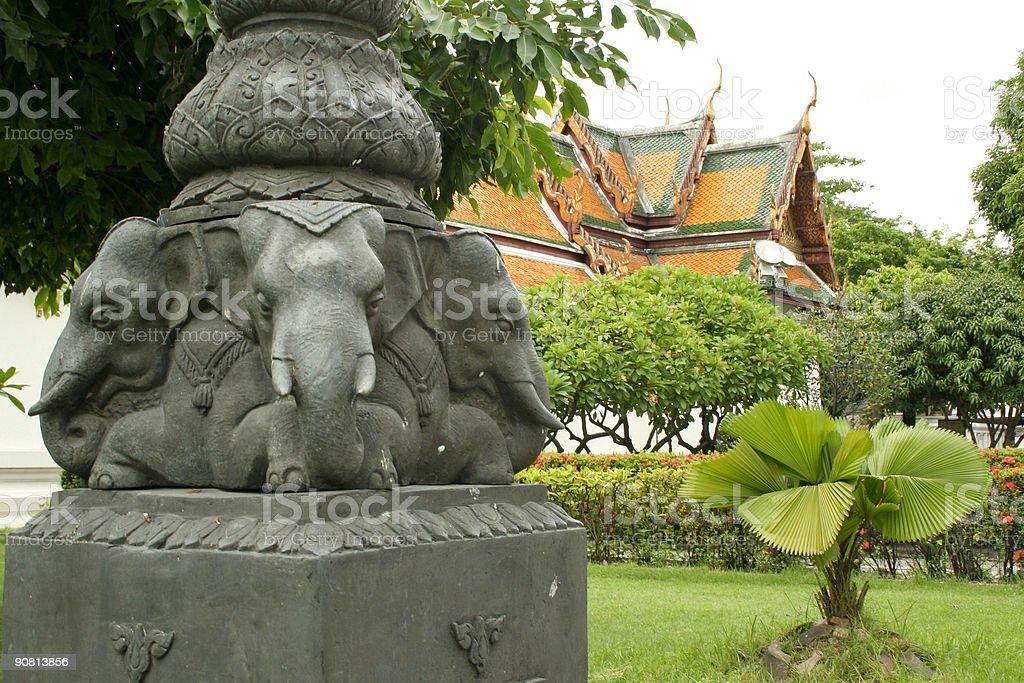 elephant heads royalty-free stock photo