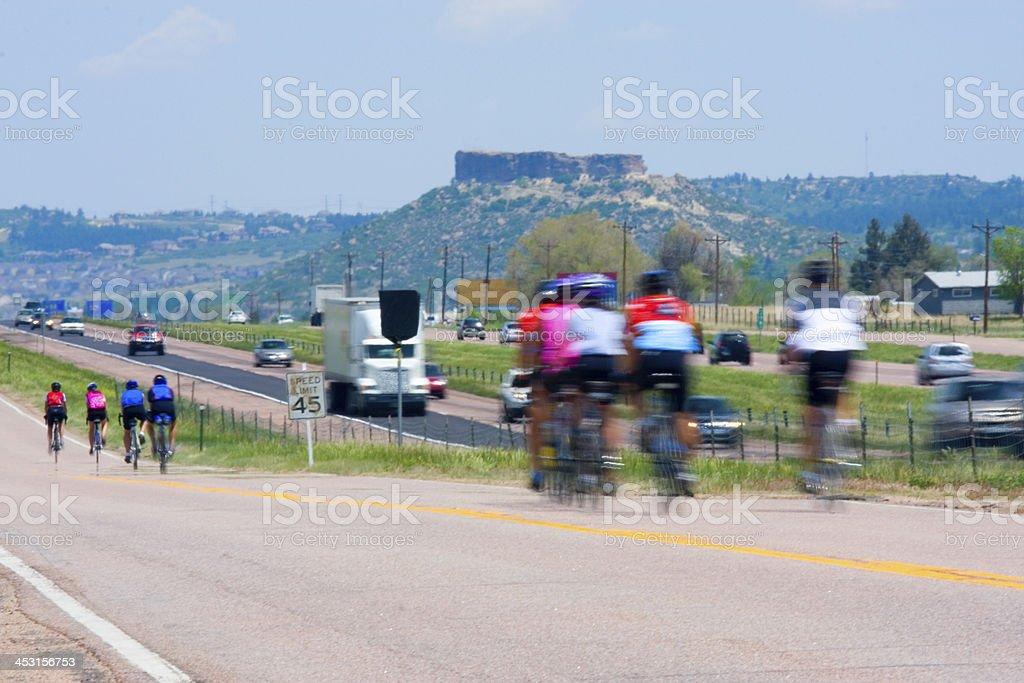 Elephant Rock Century Ride stock photo