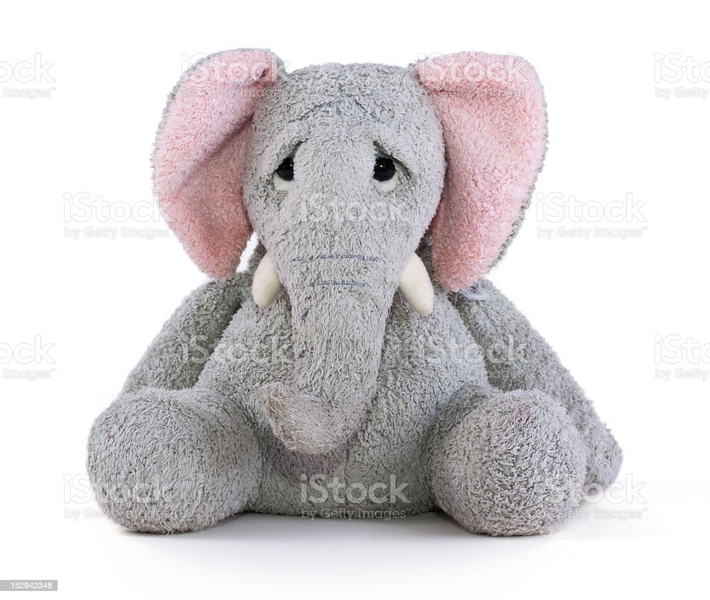Elephant Soft Toy stock photo