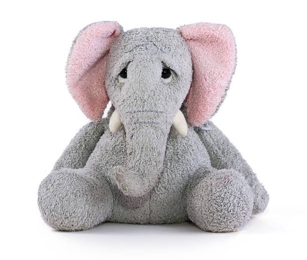 Elephant Soft Toy stock photo